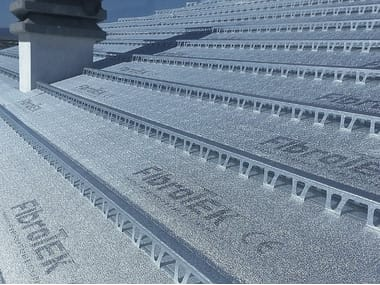 Ventilated roof system / thermal insulation panel FIBROTEK