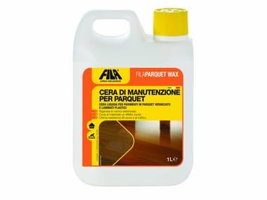 Cera liquida per pavimenti in parquet verniciato FILAPARQUET WAX