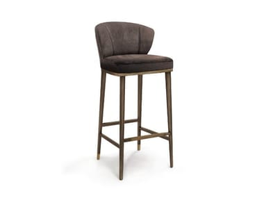 Barstool with footrest FILIPE VI | Barstool