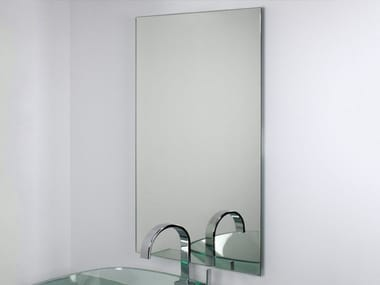Rectangular wall-mounted bathroom mirror FILO LUCIDO | Rectangular mirror