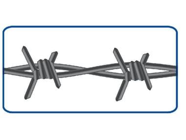 Filo zincato spinato 2 fili 4 punte FILO SPINATO | ZINCATO EXTRA PESANTE
