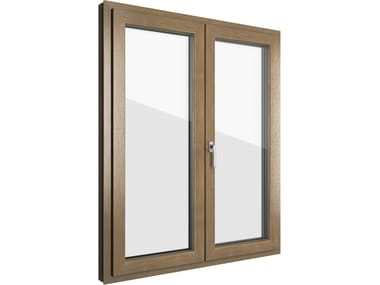 Aluminium and PVC window FIN-90 Step-line N