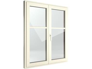Finestra a battente di sicurezza in alluminio e PVC FIN-Window Classic-line Alluminio-PVC