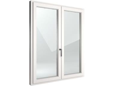 Finestra a battente di sicurezza in alluminio e PVC FIN-Window Nova-line Plus Alluminio-PVC