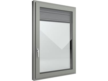 image related FIN-Window Slim-line Twin Alluminio-PVC