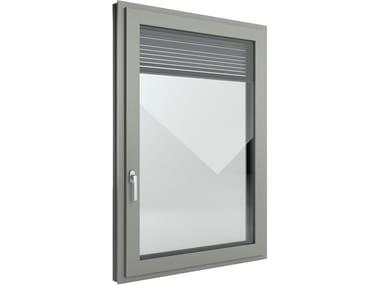 image related FIN-Window Slim-line Twin Aluminium-PVC