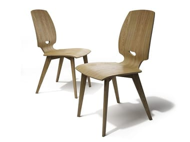 Ergonomic plywood chair FINN | Chair