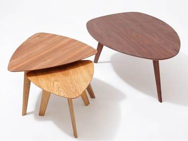 Custom wooden coffee table FINN   Coffee table