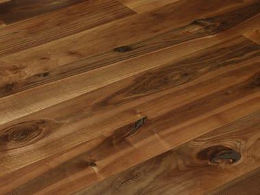 Brushed walnut parquet FIOR DI NATURA