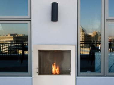 Bioethanol Glass and Stainless Steel Fireplace insert FIREBOX 900SS