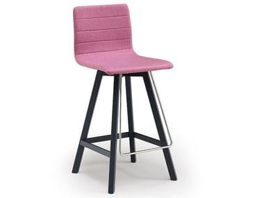 Upholstered stool FIRENZE | Stool