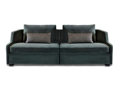 Upholstered Modular Velvet Sofa FIRST MODULARE