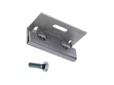 Morsetto in acciaio inox A2 per lamiera aggraffata FISCHER DLA A2