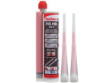 Ancorante chimico in cartuccia FISCHER FIS HB 345 S