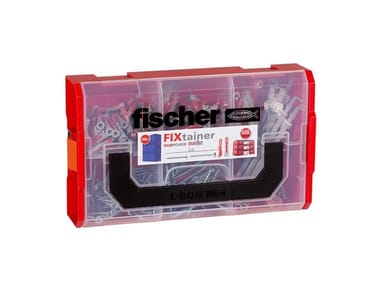 Tasselli e viti assortiti in valigetta FISCHER FIXTAINER DUOPOWER-DUOTEC