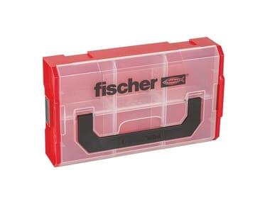 Tasselli e viti assortiti in valigetta FISCHER FIXTAINER VUOTO