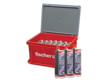 Ancorante chimico ibrido con tecnologia ai silani FISCHER FSB BOX