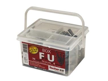 Kit compatto porta tasselli FISCHER FU BOX
