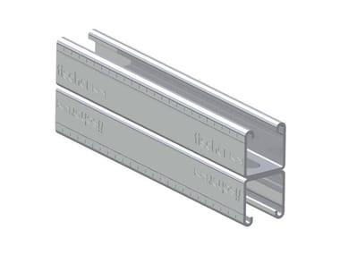 Profilo zincato a caldo FISCHER FUS 41 D HDG