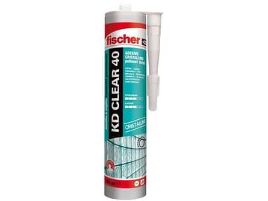 Adesivo sigillante cristallino a base di polimeri ibridi FISCHER KD CLEAR 40