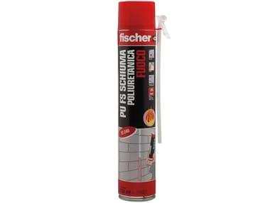 Schiuma poliuretanica fuoco uso manuale FISCHER PU FS 750
