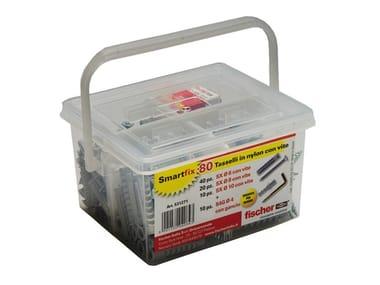 Kit compatto porta tasselli FISCHER SMARTFIX BOX