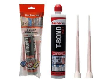 Ancorante chimico per muratura con miscelatori FISCHER T-BOND 300 K
