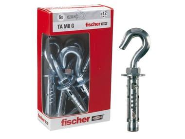 Ancoranti in acciaio con gancio stampato FISCHER TA M G Y