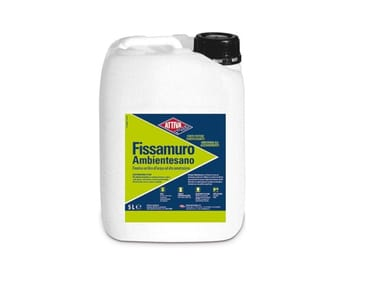 Fissativo acrilico all'acqua ad alta penetrazione FISSAMURO AMBIENTESANO