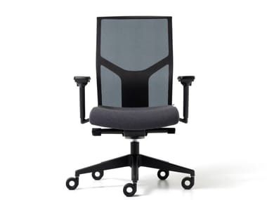 Mesh office chair with 5-Spoke base with armrests FIT | Office chair with 5-Spoke base