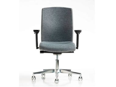 Task chair with 5-Spoke base with casters FIT | Task chair with 5-Spoke base