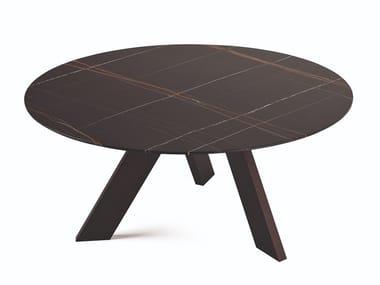 Tavolo rotondo in marmo FIX