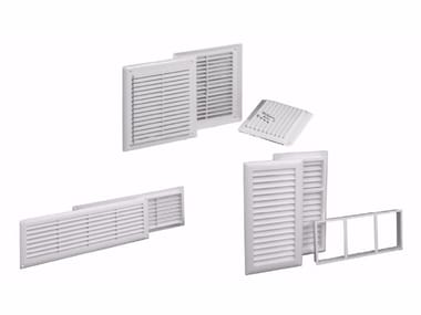 Griglia di ventilazione in ABS GRIGLIA FISSA