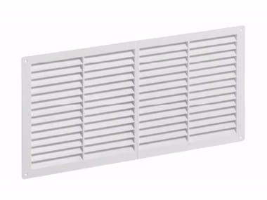Griglia di ventilazione rettangolare in ABS GRIGLIA FISSA RETTANGOLARE