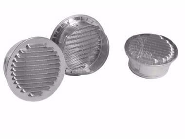 Griglia di ventilazione rotonda in alluminio GRIGLIA FISSA TONDA IN ALLUMINIO