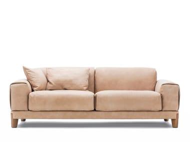 Modular leather sofa FJORD | Leather sofa