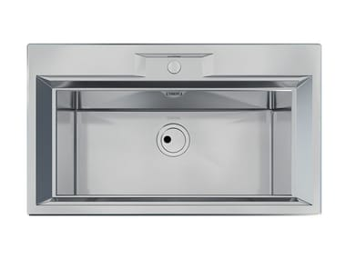 Flush Mounted Stainless Steel Sink