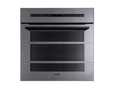 Built-in electric multifunction Glass and Stainless Steel oven FL F60 MTL  INOX VINTAGE