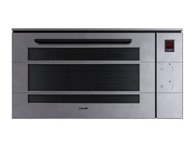 Built-in electric multifunction Glass and Stainless Steel oven FL F90 MTL  INOX VINTAGE
