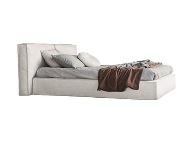 Fabric bed with upholstered headboard FLANN 2.0