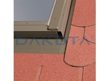 Finestra da tetto in alluminio RACCORDO PER COPERTURE PIANE
