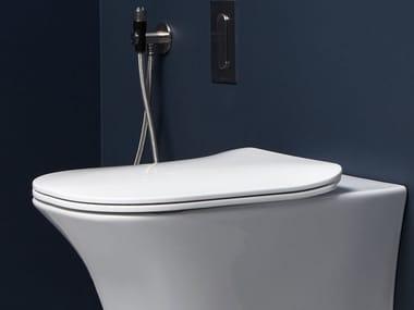 Sedile wc in resina FLAT | Sedile wc