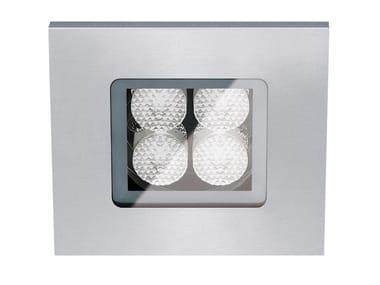 Faretto per esterno a LED da incasso con dimmer FLEA D.Q80