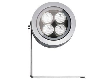 Proiettore per esterno a LED in alluminio con dimmer FLEA P.T65