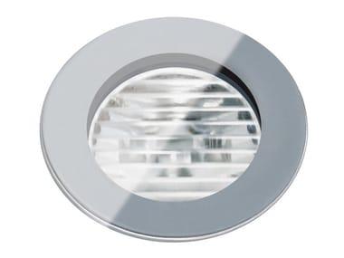 Segnapasso a LED a pavimento in vetro per esterni FLEA.T35 | Segnapasso in vetro