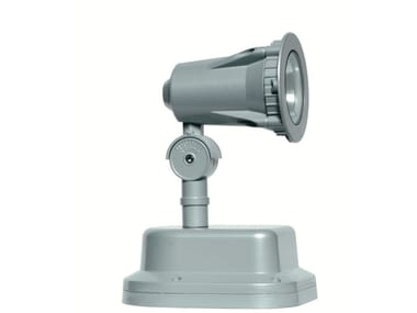 Proiettore per esterno orientabile in alluminio FLEX F.4033