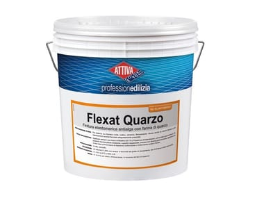 Finitura elastomerica antialga con farina di quarzo FLEXAT QUARZO