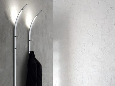 Wall-mounted steel coat rack FLINT