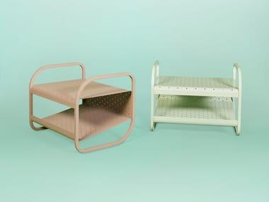 Metal footstool / coffee table FLIP | Footstool