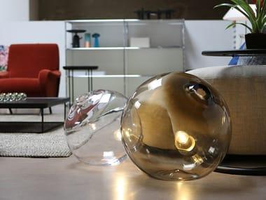 Lampada da tavolo / lampada da terra in vetro soffiato FLOAT 16/20 LIGHT